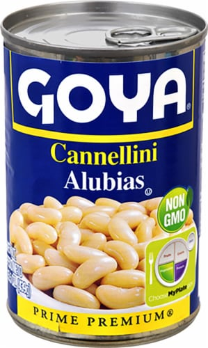 Goya Cannellini Beans Perspective: front