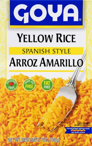 Goya Spanish Style Yellow Rice Perspective: front