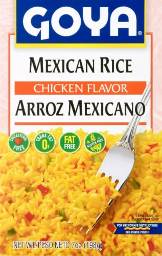Goya Mexican Rice Mix Perspective: front