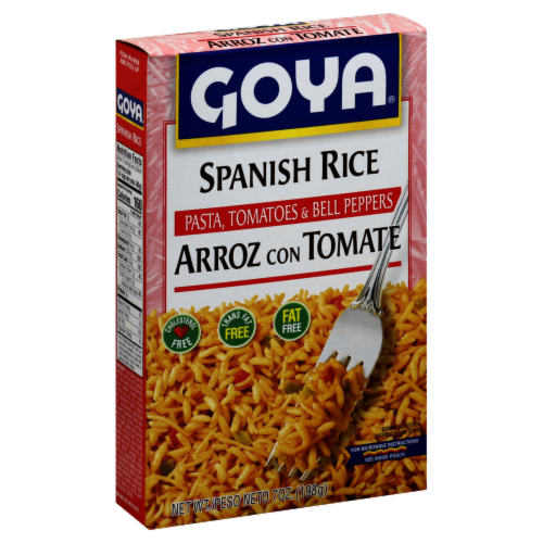 Goya Spanish Rice Perspective: front