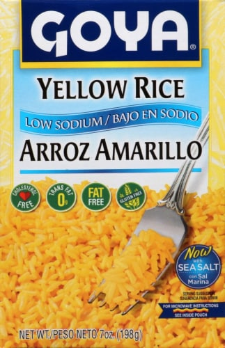 Goya Low Sodium Yellow Rice Perspective: front
