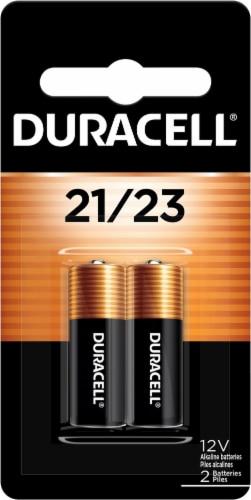Duracell 12 Volt 21/23 Alkaline Security Batteries Perspective: front
