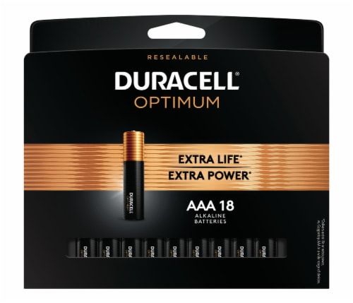 Duracell Alkaline AAA Batteries Perspective: front