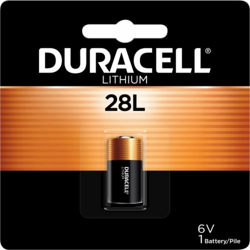 Duracell® 28L Lithium Battery Perspective: front