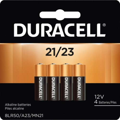 Duracell  Battery MN21B4 Perspective: front