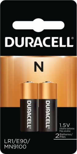 Duracell N Alkaline Batteries Perspective: front