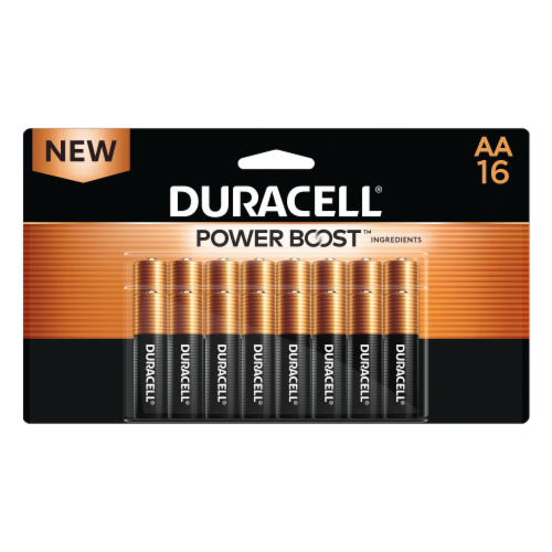Duracell AA Alkaline Batteries Perspective: front
