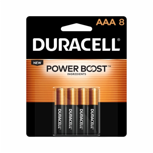 Duracell AAA Alkaline Batteries Perspective: front