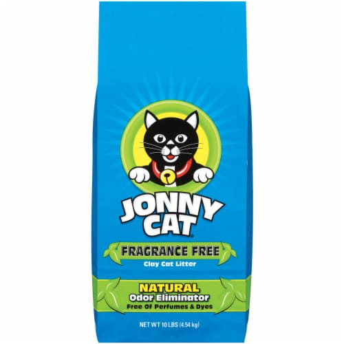 Jonny Cat Fragrance Free Natural Cat Litter Perspective: front