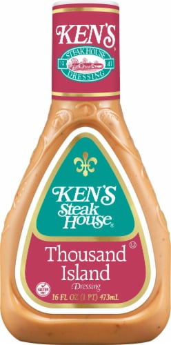 Ken's Steak House Thousand Island Dressing Perspective: front