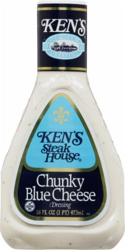 Ken's Steak House Chunky Blue Cheese Dressing Perspective: front