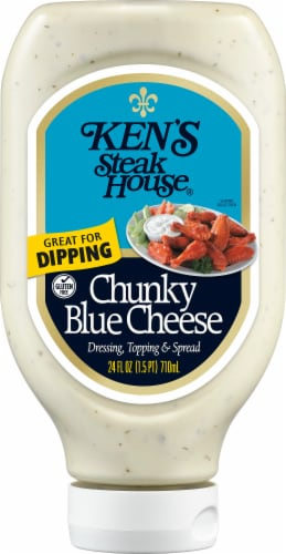 Ken's Steakhouse Chunky Blue Cheese Dressing Perspective: front
