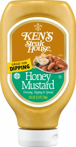 Ken's Steak House Honey Mustard Dressing Perspective: front