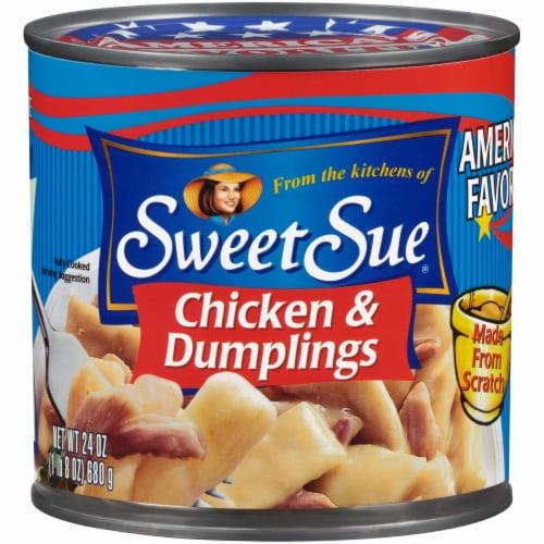 Sweet Sue Chicken & Dumplings Perspective: front