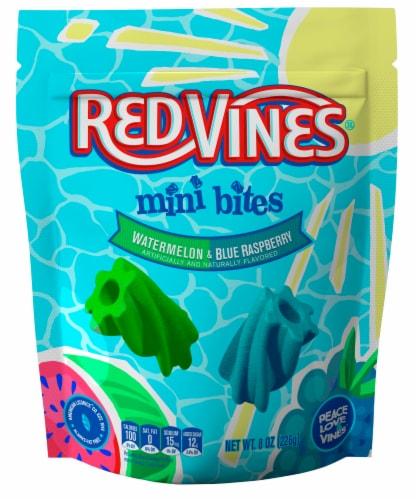 Red Vines Watermelon & Blue Raspberry Mini Bites Perspective: front