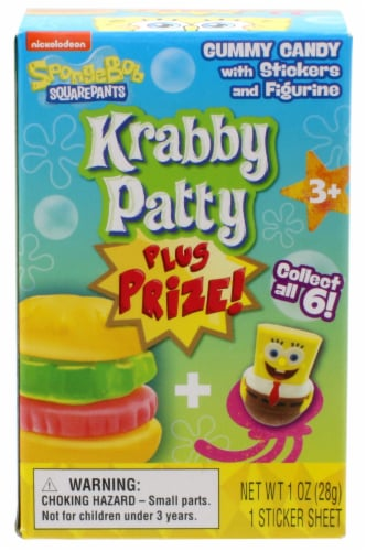 Frankford Spongebob Squarepants Krabby Patty Gummy Candy Kit Perspective: front