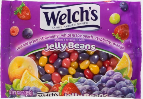 Welch's Jelly Beans Perspective: front