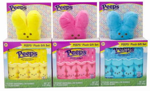 Peeps Assorted Plush Gift Set Perspective: front