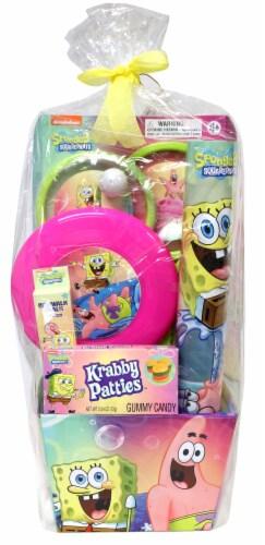 SpongeBob Easter Basket Perspective: front
