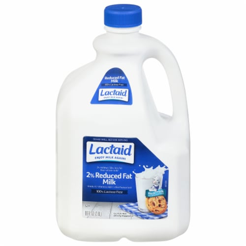 Lactaid 100% Lactose Free 2% Reduced Fat Milk Perspective: front