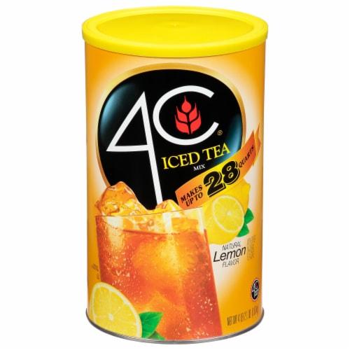 4C Instant Lemon Iced Tea Mix Perspective: front