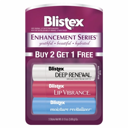 Blistex Global Blend / Deep Renewal / Ultra-Rich Hydration Lip Balm Perspective: front