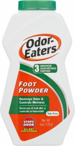 Odor-Eaters Foot Powder Perspective: front