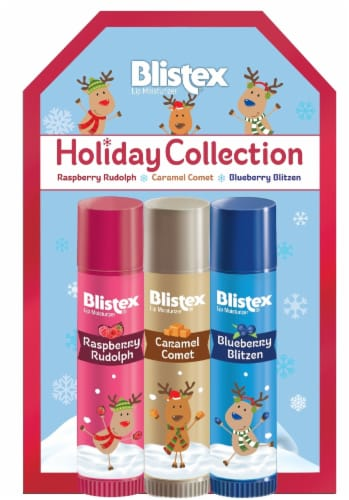 Blistex Holiday Reindeer Lip Balm Perspective: front