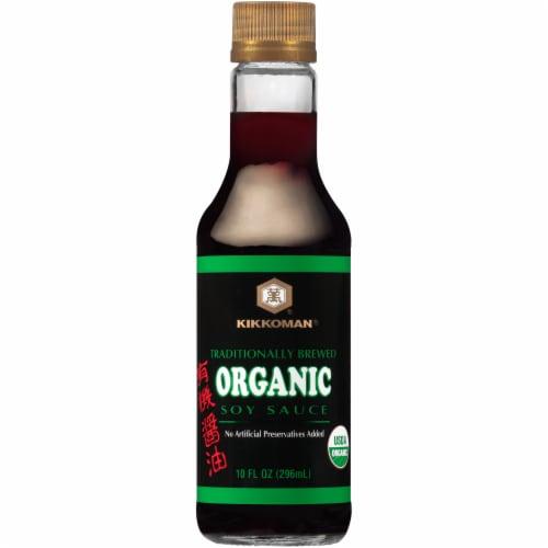 Kikkoman Organic Soy Sauce Perspective: front