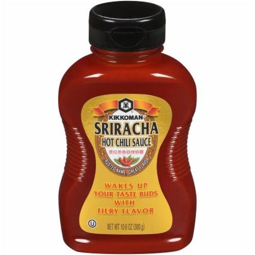 Kikkoman Sriracha Hot Chili Sauce Perspective: front