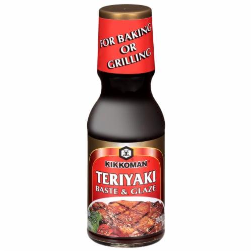 Kikkoman Teriyaki Baste & Glaze Sauce Perspective: front