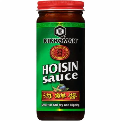 Kikkoman Hoisin Sauce Perspective: front