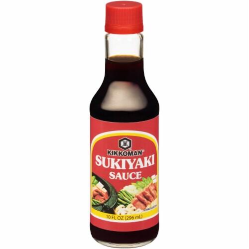 Kikkoman Sukiyaki Sauce Perspective: front