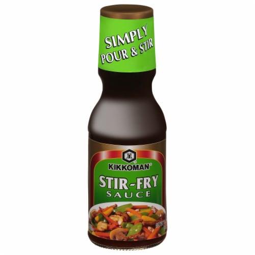 Kikkoman Stir-Fry Sauce Perspective: front
