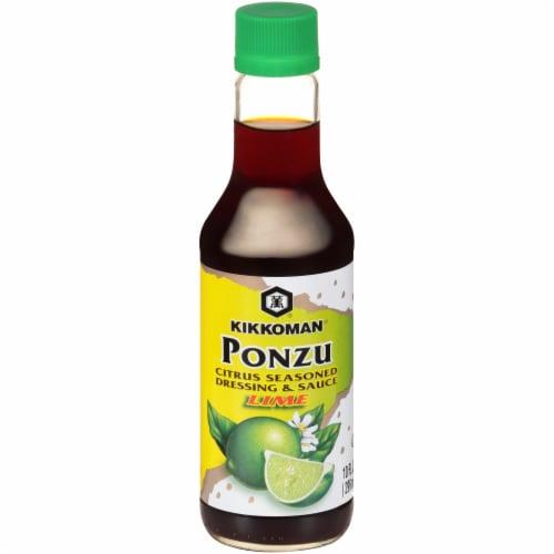 Kikkoman Ponzu Lime Dressing & Sauce Perspective: front