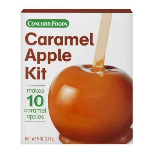 Concord Foods Caramel Apple Kit Perspective: front