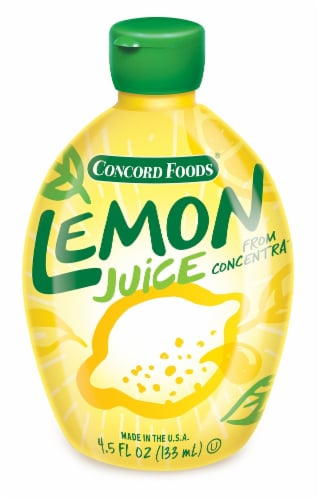 Concord Foods Reconstituted Lemon Juice Perspective: front