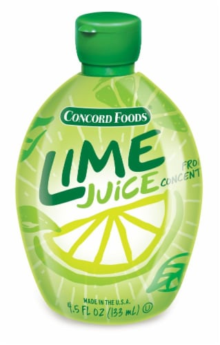 Concord Foods Lime Juice Perspective: front