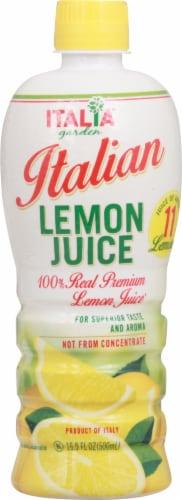 Italia Garden Italian Lemon Juice Perspective: front