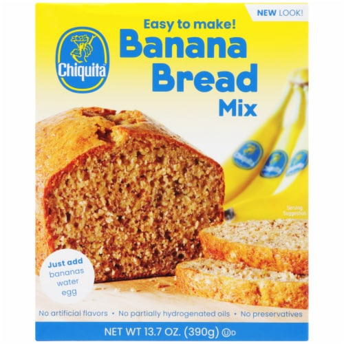 Chiquita Banana Bread Mix Perspective: front