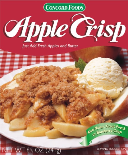 Concord Foods Apple Crisp Mix Perspective: front