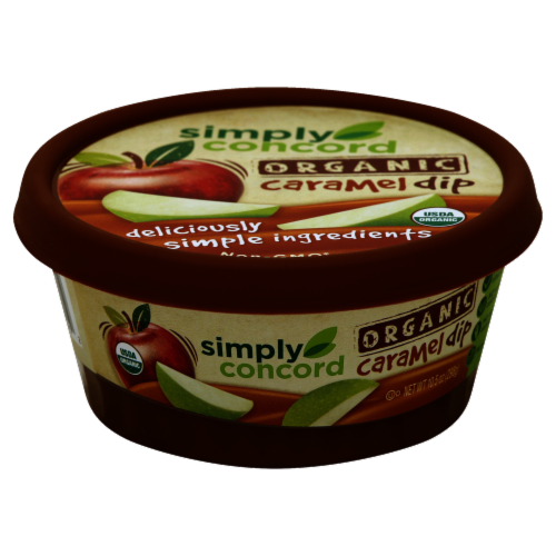 Simply Concord Organic Caramel Dip Perspective: front