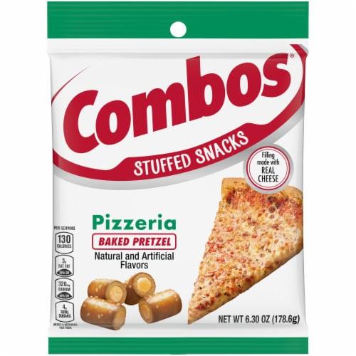 Combos Pizzeria Pretzel Baked Snacks Perspective: front