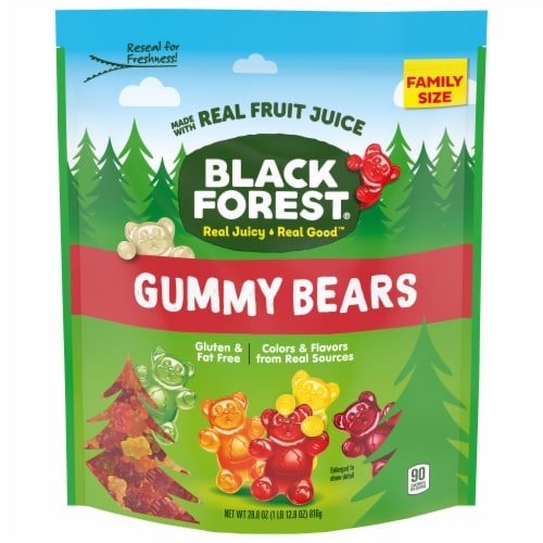 Black Forest Gummy Bears Family Size Perspective: front
