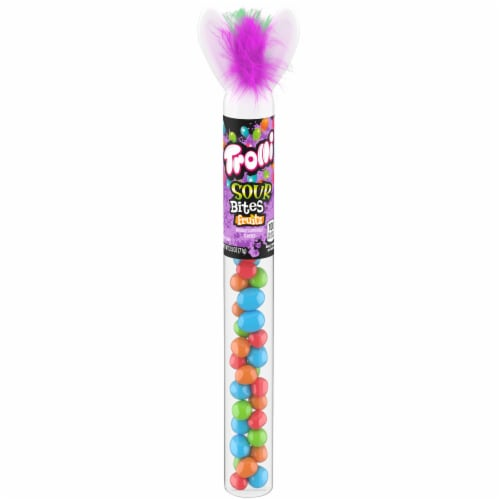 Trolli Crazy Hair Bunny Sour Bites Fruitz Candy Perspective: front