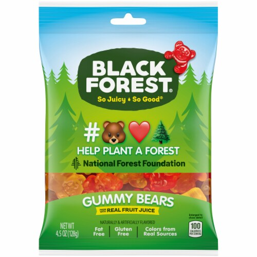 Black Forest Gummy Bears Perspective: front