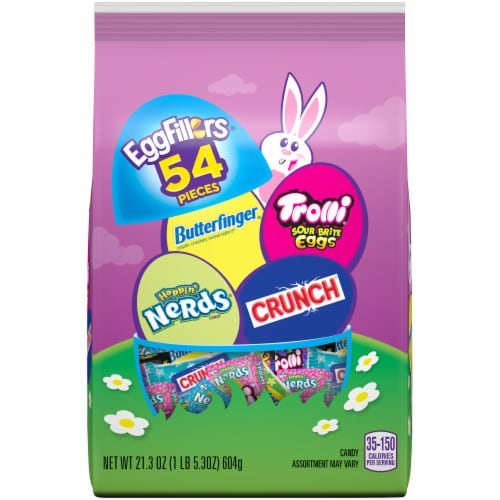 EggFillers Easter Candy Variety Bag 54 Count Perspective: front