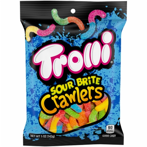 Trolli Sour Brite Crawlers Candy Perspective: front