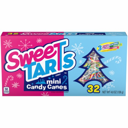 SweeTARTS Mini Canes Candy Perspective: front