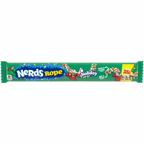 Nerds Holiday Rope Candy Perspective: front